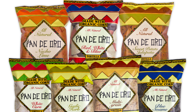 Pan De Oro Tortilla Chips